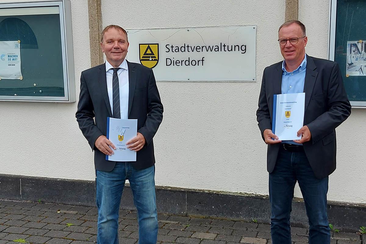 Dierdorf schließt neuen Vertrag für Stromversorgung