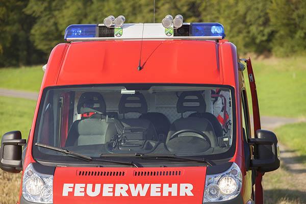 Küchenbrand in Neustadt-Kodden