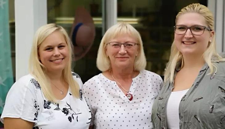 """Gudrun Vierschilling und ihr Team vom Thomas-Cook-Reisebüro in Wissen wurden wie viele Kunden von der Konzern-Insolvenz """"kalt erwischt"""". (Foto: privat)"""