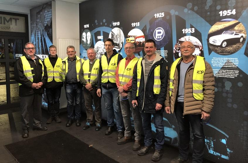 Prachter Bauausschuss zu Besuch bei der Firma TMD FRICTION