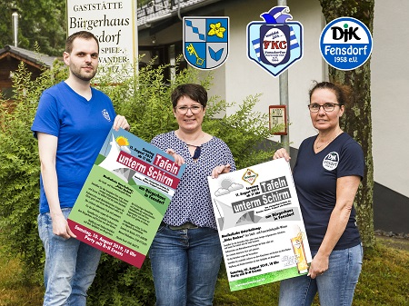 """""""Tafeln unterm Schirm"""": Fensdorfer laden zum Picknick"""