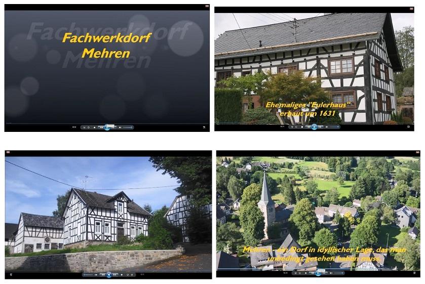 Kleine Filme geben einen Einblick in die Region. (Fotos: VG-Verwaltung Altenkirchen-Flammersfeld)