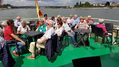 Tagesfahrt der Dorfgemeinschaft Katzwinkel-Elkhausen ging nach Bonn und Königswinter