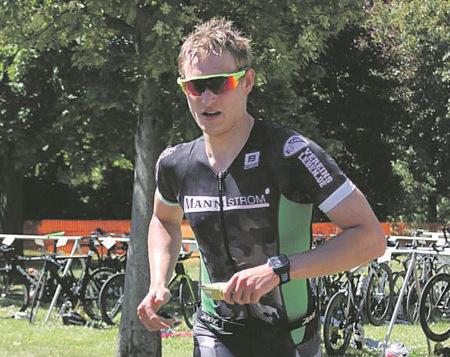 Maximilian Rohde beim Tauris-Man auf Platz 10