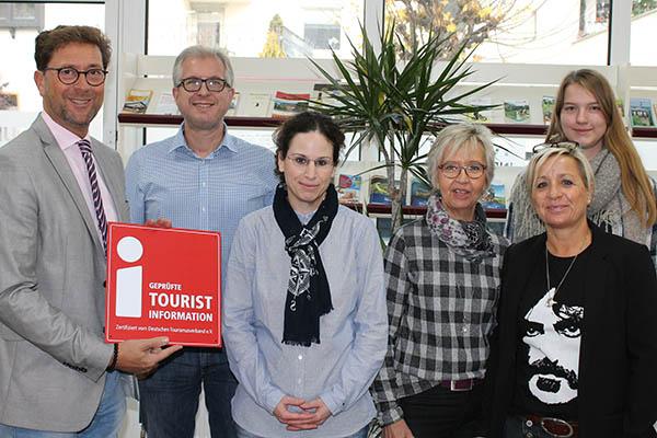 Tourist-Info Bad Hönningen wurde zertifiziert