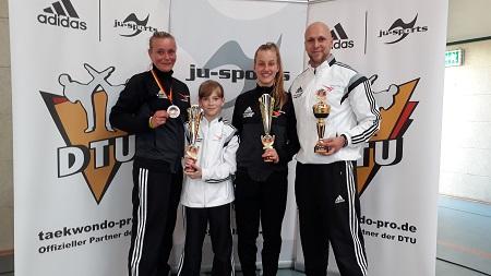 Jill-Marie Beck und Emily Kunz sind Deutsche Meisterinnen