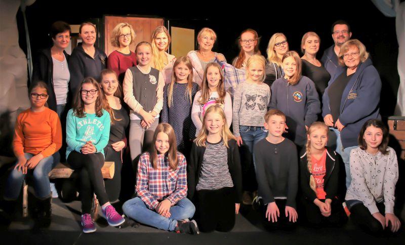 Das Petermännchen-Theater hat Frau Holle engagiert