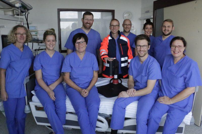 Neue Reanimationshilfe im Herz-Jesu-Krankenhaus Dernbach im Einsatz