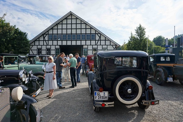 Offenes Oldtimertreffen am Technikmuseum Freudenberg