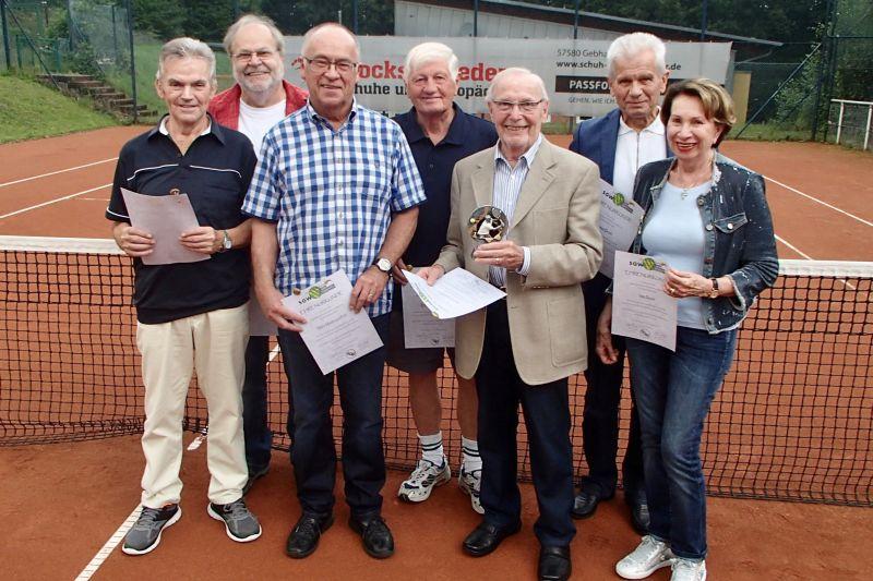40 Jahre Tennis in Gebhardshain