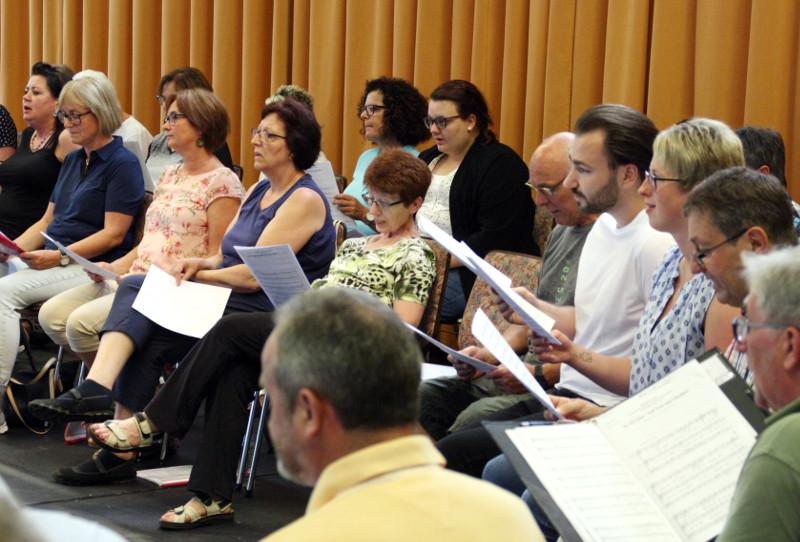 Gesangsverein Thalhausen gibt Raiffeisen eine Stimme