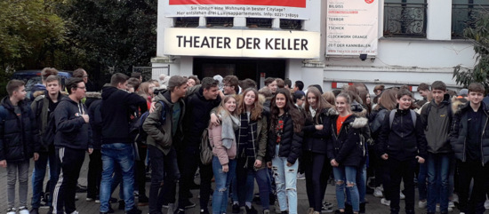 Krass, witzig, sch�lernah: IGS-Sch�ler bei �Tschick� in K�ln