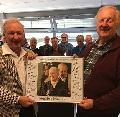 MGV Linz gratuliert musikalisch zum 90. Geburtstag von Peter Labonte