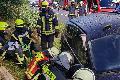 A3: Fünf schwer und zwei leicht verletzte Personen nach Unfällen