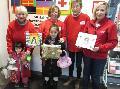 Deutsches Rotes Kreuz verschenkt gespendete B�cher an Kinder