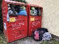 Altkleidercontainer in Corona-Zeit nicht befüllen