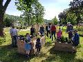 Steinbuschanlage freigegeben: Grüne Oase in Wissens City