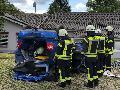 Ausbildungstag: Feuerwehr auf den Ernstfall vorbereitet