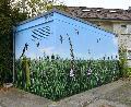 Schwalben: Weitere Trafostation mit Graffiti verschönert