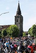 Bikerkult im Westerwald: Pfingsttreffen des MC Abschwarter