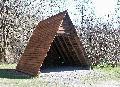 Die Eisbachhütte im Wippebachtal ist wieder hergerichtet