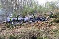 Flächenbrand in Birnbach erforderte Einsatz der Drohne