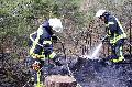 Zwei Kinder legten Feuer im Birnbacher Wald