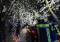 Wintereinbruch sorgt für Einsätze bei Feuerwehren im Kreis