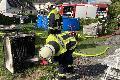 Zimmerbrand in Breitscheidt konnte schnell gelöscht werden