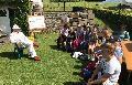 Grundsch�ler aus Hamm zu Besuch beim Imker