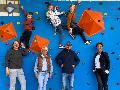 Förderverein sponsert Boulderwand an der Grundschule Hamm/Sieg