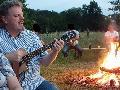 Lagerfeuerromantik beim Hammer Kultur- und Genusssommer