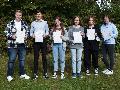 Übergabe von Sprach-Zertifikaten im Fach Englisch an der IGS Hamm
