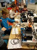 Elektronik-Workshop f�r kleine Nachwuchsingenieure