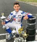 Hammer Kart-Talent Pablo Kramer wird zweifacher Vizemeister