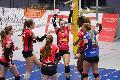 Derbysieg in Wiesbaden - Deichstadtvolleys erobern Tabellenspitze