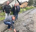�Eine Zumutung�: SPD-Politiker nahmen K 100 in Augenschein