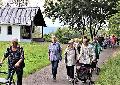 """""""555er"""" im Buchfinkenland pilgerten erwartungsvoll ins """"Wald-Café"""""""