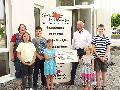 Kommunionkinder der Pfarrei St. Franziskus im Hohen Westerwald spendeten