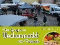 Neuer Ort – bekanntes Konzept: Der Wochenmarkt zieht auf den Ferbachparkplatz