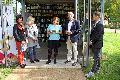 Ulrike Puderbach las bei feierlicher Eröffnung der Leselounge
