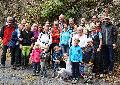 Lauftreff Puderbach mit  Kind und Kegel unterwegs im Grenzbachtal