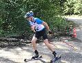 Matthias Wiederstein drittschnellster Rollski-Skater in Speyer