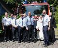 Die Feuerwehr Norken hatte Grund zum Feiern