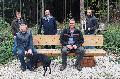 Bänke für Ruhepausen im Bendorfer Wald gebaut