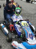 Pech f�r Pablo Kramer bei der Deutschen Kart-Meisterschaft