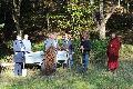Hilfe bei der Renaturierung im Birkenbachtal