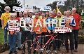50 Jahre Städtepartnerschaft wird auf dem Rennrad gefeiert