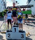 Francis Cerny holt Sieg beim Radrennen in Hochheim am Main