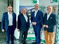Parlamentarischer Staatssekretär zu Besuch bei ALHO
